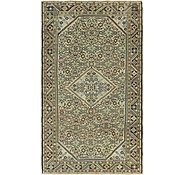 Link to 165cm x 305cm Hossainabad Persian Runner Rug