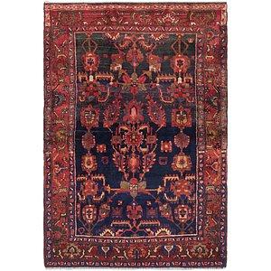 4' 7 x 6' 9 Hamedan Persian Rug