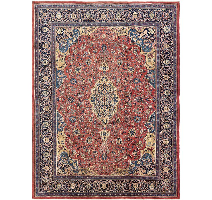 10' 3 x 14' Sarough Persian Rug