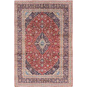 9' 6 x 14' 2 Kashan Persian Rug