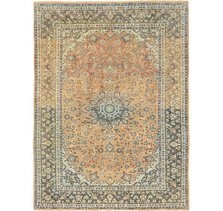 9' 9 x 13' 2 Mashad Persian Rug