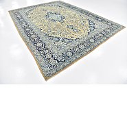 Link to 8' 10 x 12' 2 Kashan Persian Rug