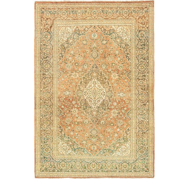 8' 3 x 11' 9 Mashad Persian Rug