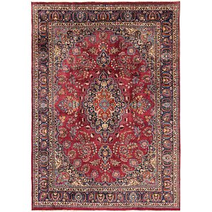 Link to 9' 9 x 13' 7 Mashad Persian Rug item page