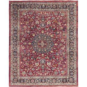 10' 2 x 12' 6 Mashad Persian Rug