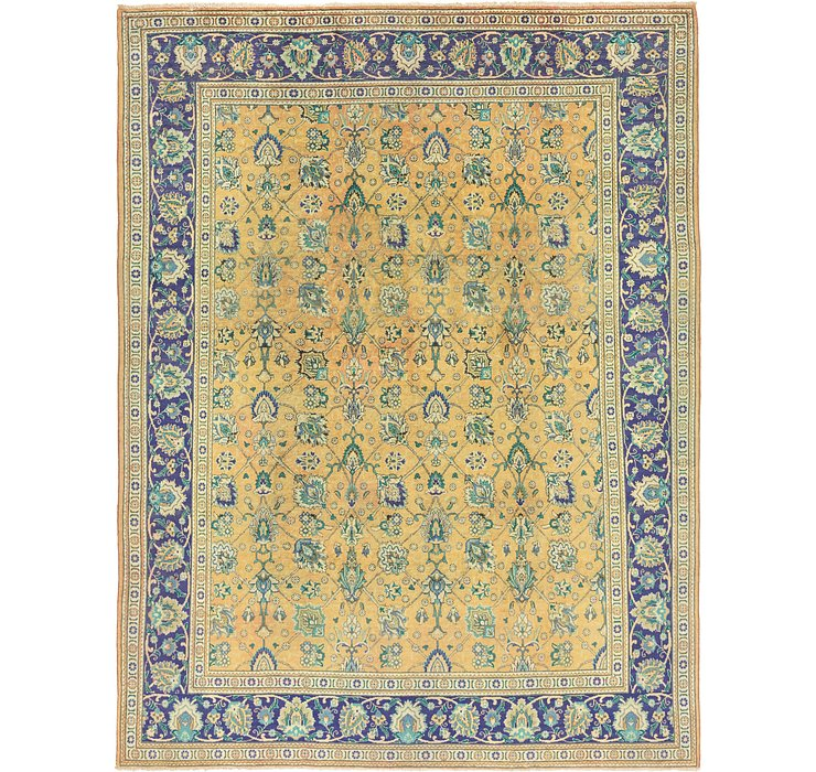 10' x 13' 2 Tabriz Persian Rug