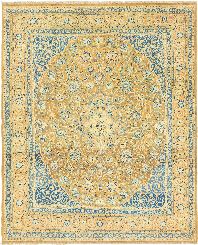 Light Brown 8 6 X 10 4 Mahal Persian Rug Irugs Uk