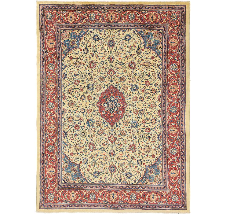 9' 7 x 13' Sarough Persian Rug