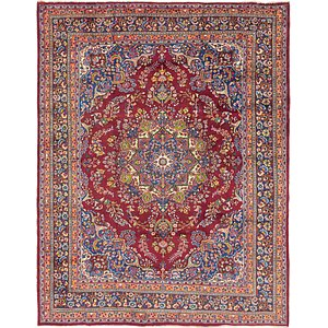 Link to 9' 9 x 12' 5 Mashad Persian Rug item page