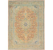 Link to 10' x 13' 7 Kashan Persian Rug