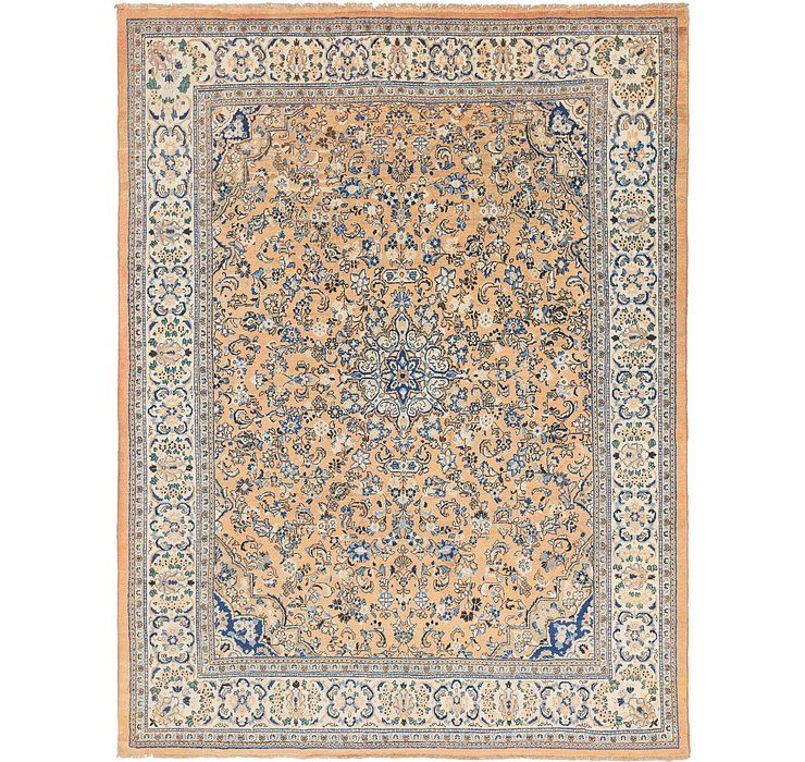 10' 7 x 14' Sarough Persian Rug
