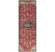 Link to 2' 8 x 8' 2 Hossainabad Persian Runner Rug