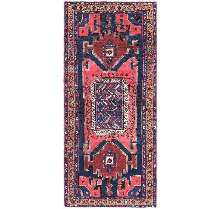 4' 2 x 9' 5 Zanjan Persian Runner Rug