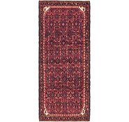 Link to 4' 3 x 10' Hossainabad Persian Runner Rug