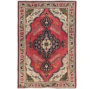 Link to 102cm x 147cm Tabriz Persian Rug