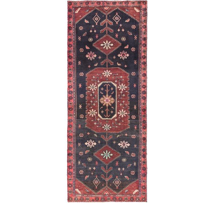 3' 9 x 9' 8 Zanjan Persian Runner Rug