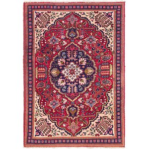 Link to 3' 3 x 4' 9 Tabriz Persian Rug item page