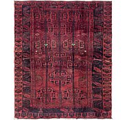 Link to 5' 3 x 6' 4 Shiraz Persian Square Rug
