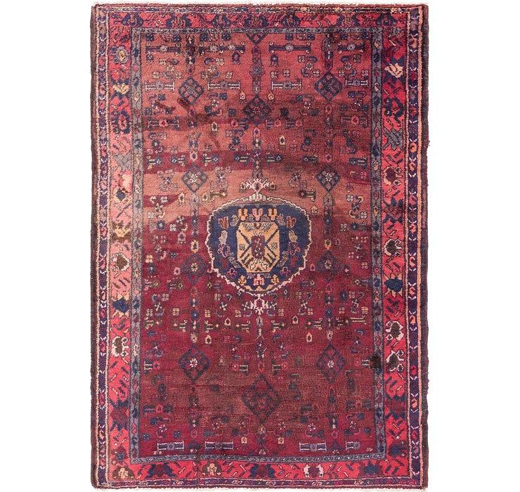 4' 4 x 6' 7 Hamedan Persian Rug
