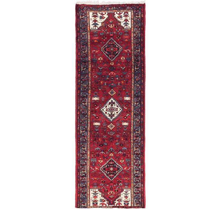3' 3 x 9' 9 Khamseh Persian Runner ...