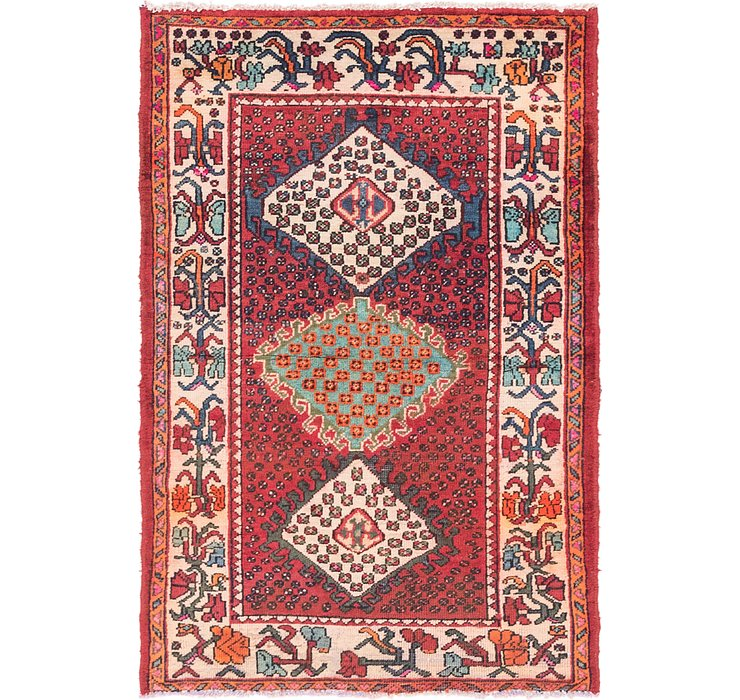 3' 6 x 5' 3 Bakhtiar Persian Rug