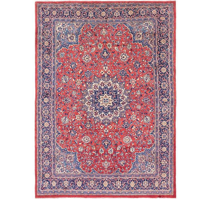 9' 7 x 13' 6 Sarough Persian Rug