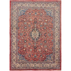 HandKnotted 10' x 13' 5 Sarough Persian Rug