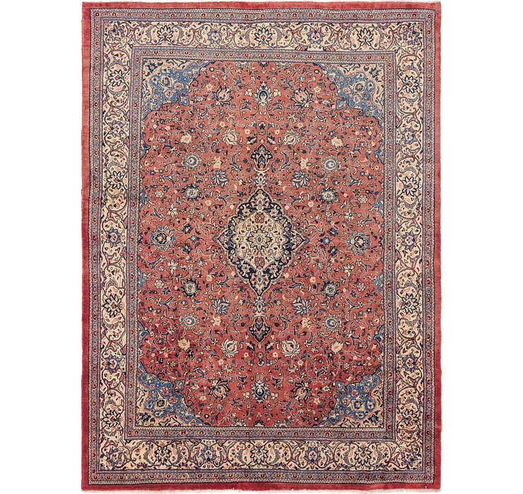 10' x 13' 5 Sarough Persian Rug