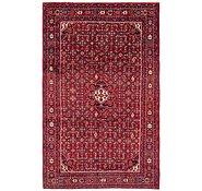 Link to 213cm x 345cm Hossainabad Persian Rug