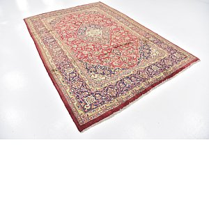 Link to 3' 5 x 9' 6 Mashad Persian Runner Rug item page