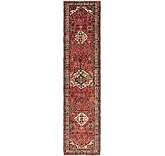Link to 3' 7 x 16' Hossainabad Persian Runner Rug