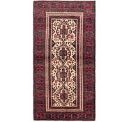 Link to 3' x 6' Balouch Persian Runner Rug