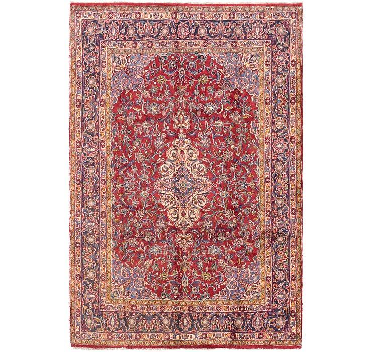 6' 8 x 10' 2 Shahrbaft Persian Rug