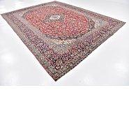 Link to 9' 6 x 12' 7 Kashan Persian Rug