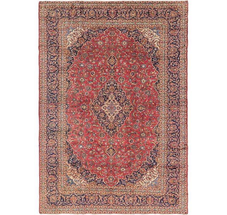 290cm x 415cm Kashan Persian Rug