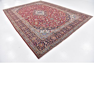 Link to 9' 7 x 13' 4 Kashan Persian Rug item page