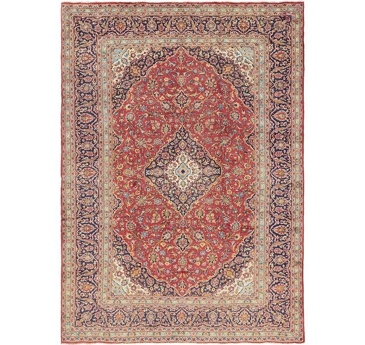 9' 7 x 13' 2 Kashan Persian Rug