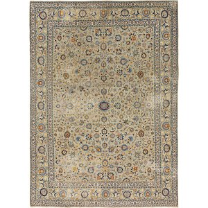 10' 7 x 14' 9 Kashan Persian Rug