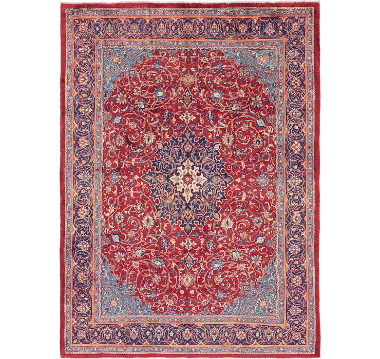 9' 10 x 13' 4 Sarough Persian Rug