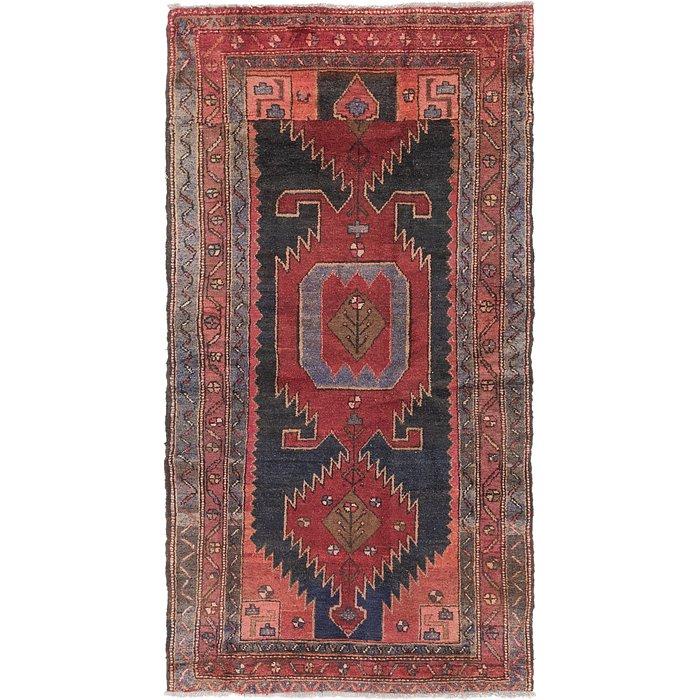 4' x 8' Zanjan Persian Runner Rug