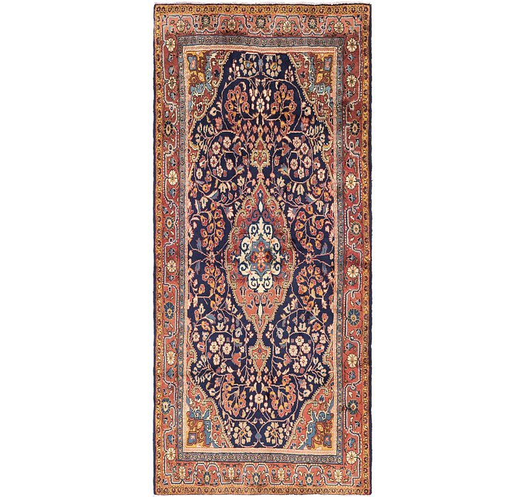 137cm x 315cm Jozan Persian Runner Rug