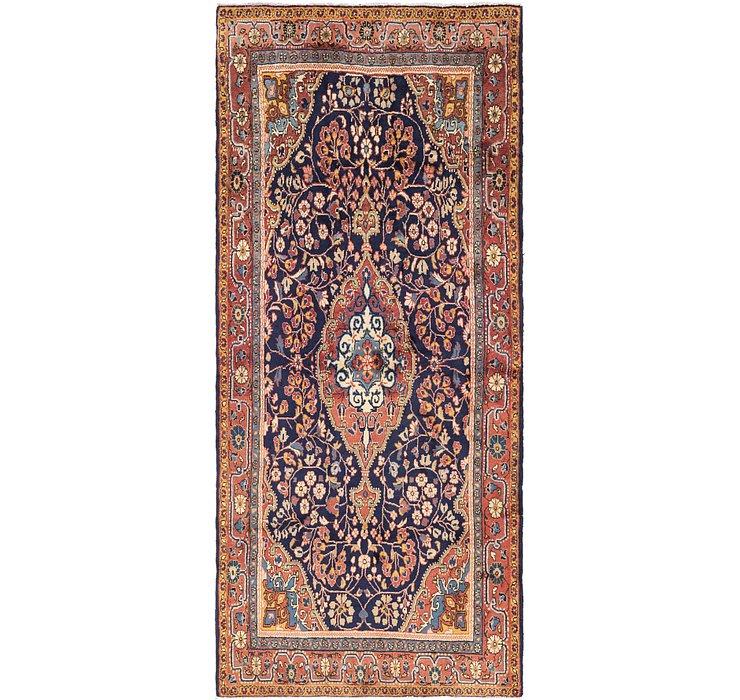 4' 6 x 10' 4 Jozan Persian Runner Rug