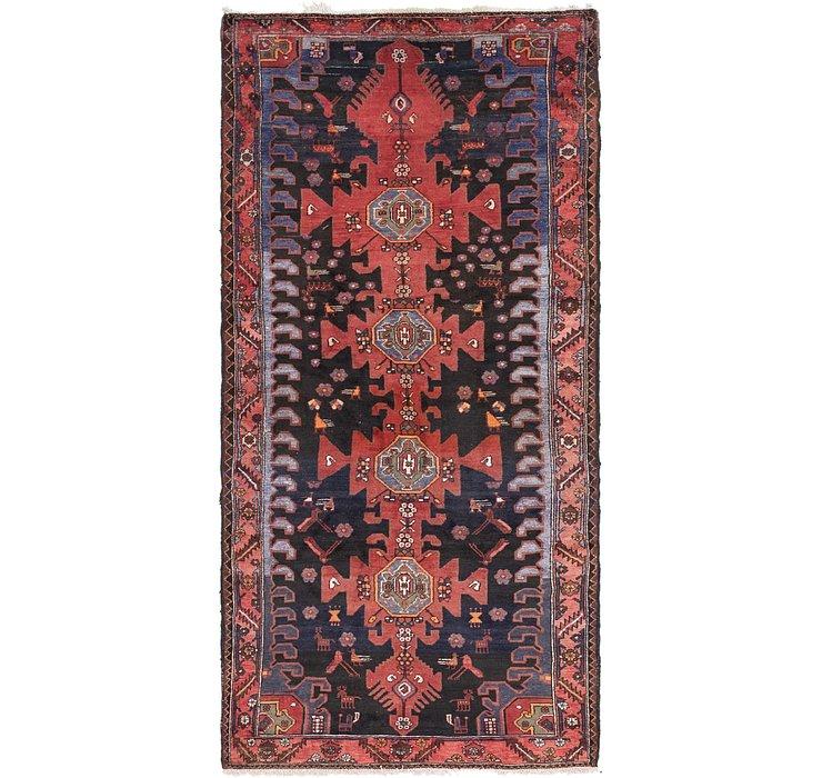4' 10 x 10' 2 Zanjan Persian Runner Rug