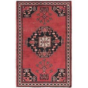 4' 3 x 6' 10 Ferdos Persian Rug