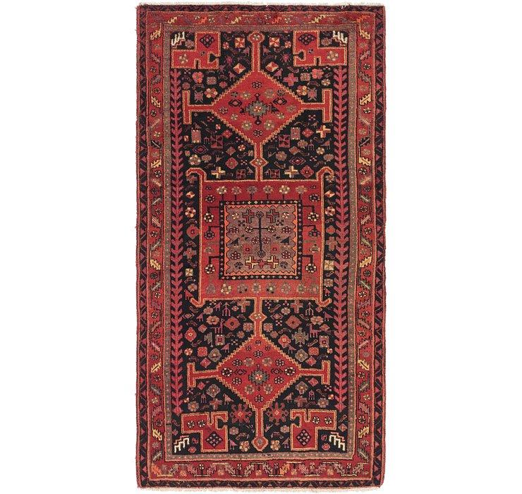 5' x 9' 9 Zanjan Persian Runner Rug