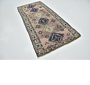 Link to 3' 10 x 8' 5 Shiraz Persian Runner Rug