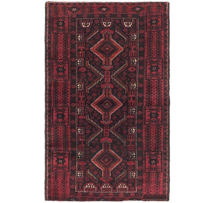 3' 2 x 5' 3 Balouch Persian Rug