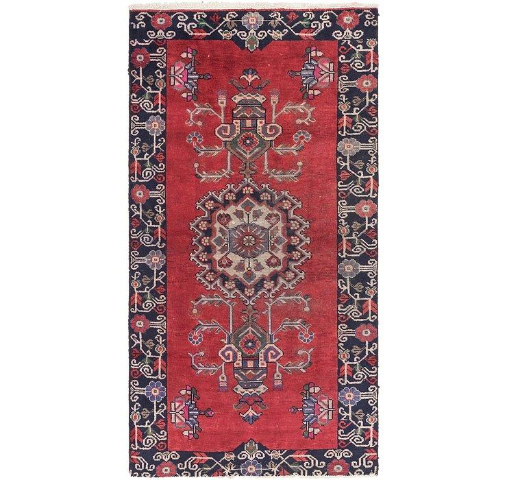 3' 10 x 7' 6 Ferdos Persian Runner Rug
