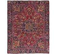 Link to 4' 5 x 5' 7 Mashad Persian Square Rug