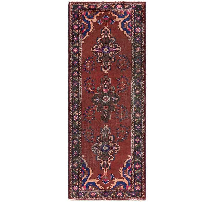 4' x 10' 9 Ferdos Persian Runner Rug